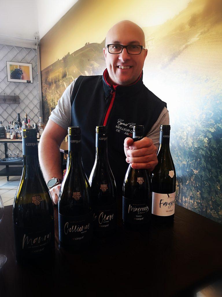 Rhône Magnum - Cyril CONIGLIO, Meilleur Caviste de France 2018! et les vins Guillaume GANGLOFF